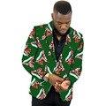 Dashiki africano terno blazer de impressão personalizada para o partido/casamento dos homens limitada padrão terno de roupas da áfrica para o casamento africano