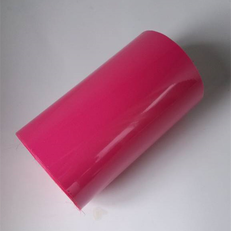 hot stamping foil pigment foil hot press on paper or plastic rose red color pigment foil X005 hot stamping foil pigment foil hot press on paper or plastic rose red color 16cm x 120m pigment foil x005