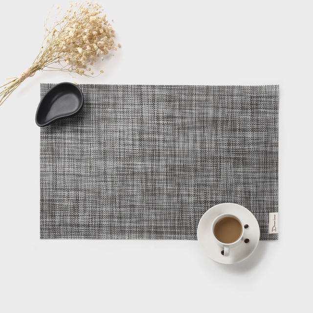 Popular 4pcs/set Modern Placemats Japanese Table Mat Waterproof Tablecloth  JT87