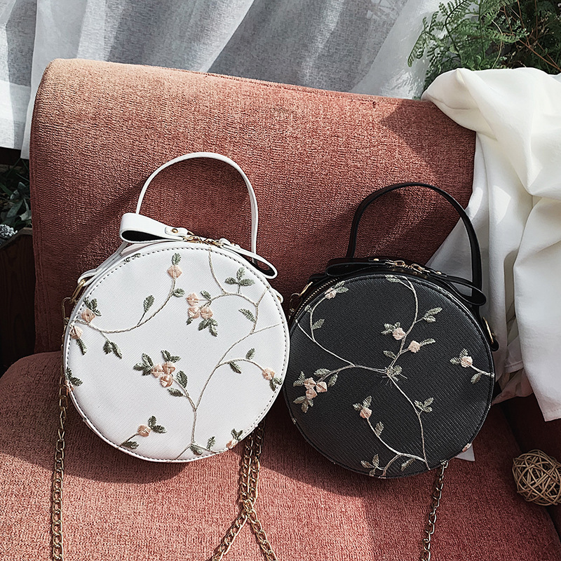 SGARR High Quality Women PU Leather Shoulder Bag Fashion Mini Ladies Crossbody Bag Famous Designer Casual Female Flower Handbag