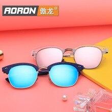 Aoron 2016 Style Polarized Light Sunglasses Fashion Color Film Will Frame Repair Sunglasses Men And Women Fashion Glasses Y