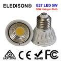 ELEDISON PAR16 LED Lighting Spot E26 E27 5W 500LM 50W Halogen Equivalent 100-240V 90 Degrees Angle Living Room Bathroom Lighting