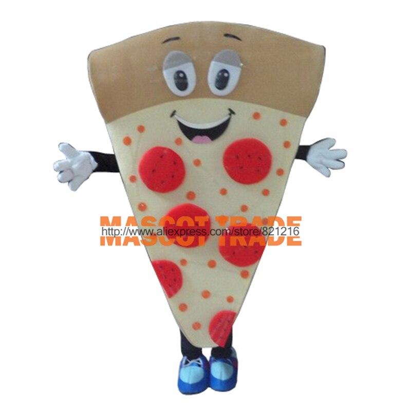 Nouveau Costume De Mascotte De Pizza Personnalisé Fantaisie Robe Cosplay de Dessin Animé Costume De Mascotte Carnaval Costume Fantaisie Costume
