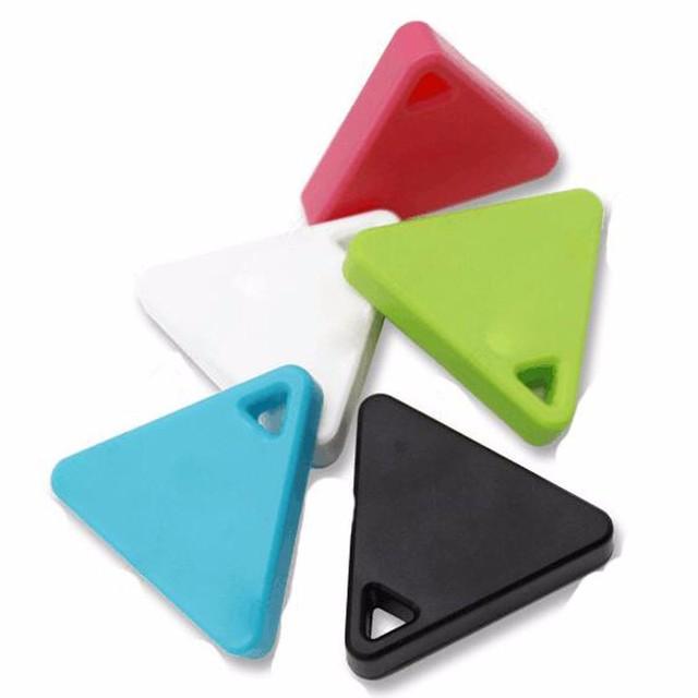 De forma gratuita, Bluetooth 4.0 teléfono móvil anti-perdida de dispositivos de baja potencia, triangular objetos perdido llavero para encontrar objetos