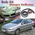 Bumper Lip Deflector Lips For Fiat Brava / Bravissimo / Bravo Front Spoiler Skirt For TopGear Tuning / Body Kit / Strip