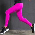 Sexy Sporting Women Slim Leggings High Waist Push Up Elastic Bodybuilding Pants 3 Colors Fitness Women Trousers