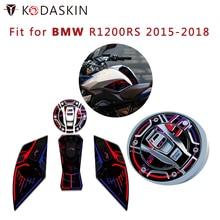 KODASKIN Motorcycle  Fuel Tank Cap Sticker Protective Side Sticker KTM Modified Fuel Tank Sticker for BMW R1200RS 2015-2018 стоимость