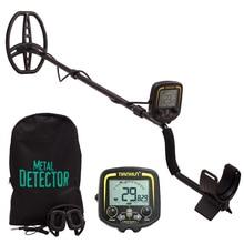 TX850 профессиональный водонепроницаемый металлический детектор для золота подземный сканер поиск искатель Золото детектор Охотник за сокровищами Pinpointer