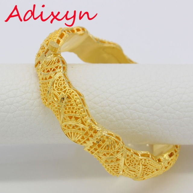 Aliexpress buy dubai bangles for womengirls 24k gold color dubai bangles for womengirls 24k gold colorcopper banglesbracelet africanarab negle Gallery