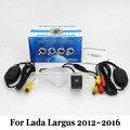 Автомобильная Камера Заднего вида Для Lada Largus 2012 ~ 2016/RCA Провода Или беспроводной/HD Широкоугольный Объектив/CCD Ночного Видения Резервную Камеру