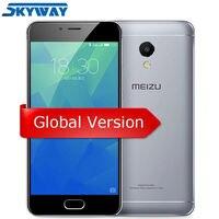 Original MEIZU M5S 4G FDD LTE Cell Phone 3GB 16 32GB MTK6753 Octa Core 5 2