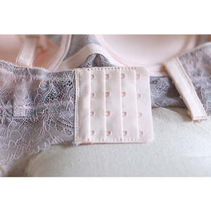 Image 4 - Sexy Mousse Embroidery Thin Cup Strap Bras Underwear 2017 Fashion Push ap Bras and Panty Set For Women