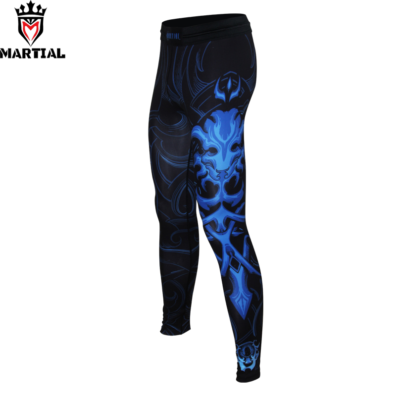 Free shipping Martial :LEO  original design boxing pants muay thai clothing leggings sport for men black exercise leggings