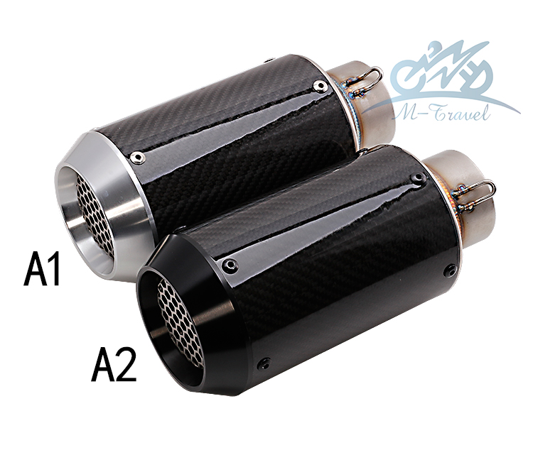 universal Motorcycle exhaust pipe and carbon fiber CNC for exhaust z800 zx10r r6 r3 r25 Muffler Racing Exhaust With Sticker 36 51mm universal motorcycle double exhaust muffler pipe for z800 gsxr750 zx10r ninja650 two holes muffler cbr1000rr cbr650