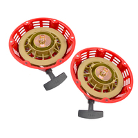 New 2 Pack Of Pull Start Red Recoil Cover 8HP & 9HP For Honda GX240 & GX270 @10