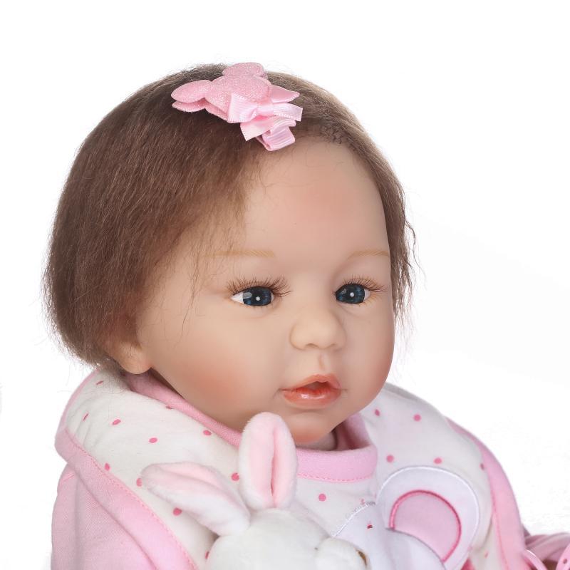 53cm Bebe Newborn Lifelike Baby Reborn Menina Realistic Reborn Silicone Dolls for Girls Boneca Baby Reborn Toys53cm Bebe Newborn Lifelike Baby Reborn Menina Realistic Reborn Silicone Dolls for Girls Boneca Baby Reborn Toys