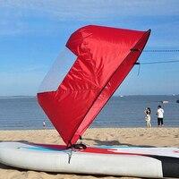 Water Sports Entertainment Sailing Kayaking Windsurfing S Spherical Sail Portable Folding Sailing Sail