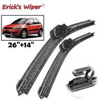 Erick's Wiper Front Wiper Blades For Suzuki SX4 2006 - 2018 Windshield Windscreen Front Window 26