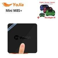 Yojia Mini M8S Plus Amlogic S905X Android 6.0 TV Box QuadCore Mini M8S II Set Top Box Mediaspeler Mini M8S +