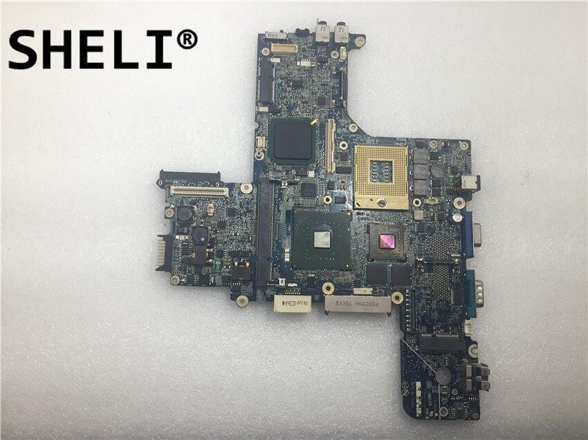 SHELI For Dell D620 Laptop Motherboard LA-2792P CN-0GK189