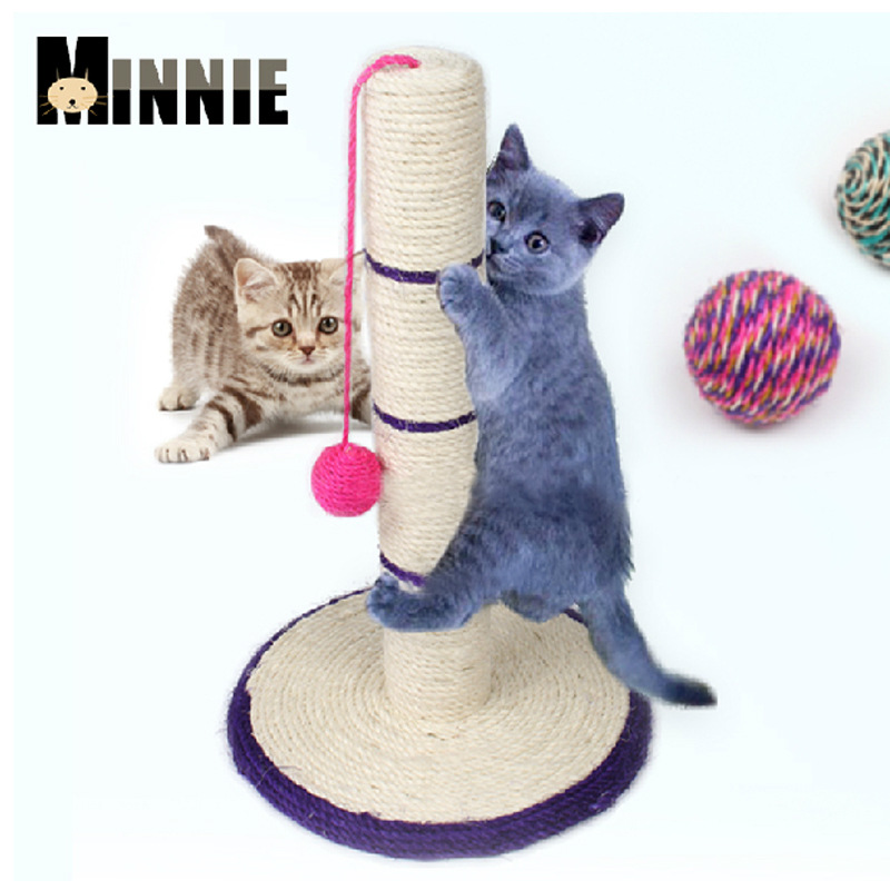 cat climbing tree cat scratching post cat tower furniture pet supplies cat wood sisal rope pets free shipping