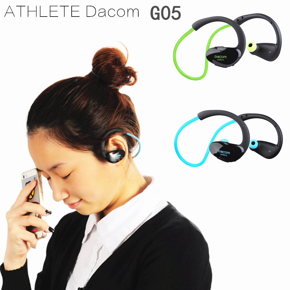 Original Dacom Athlete Bluetooth 4.1 headset Wireless headphone sports stereo earphone with microphone NFC for iPhone Xiaomi MP3 nfc dacom athlete bluetooth headsets wireless sport headsfree headphones stereo music earphones fone de ouvido with microphone
