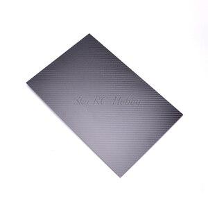 Image 4 - 400mm X 200mm gerçek karbon Fiber plaka paneli levha 0.5mm 1mm 1.5mm 2mm 3mm 4mm mm 5mm kalınlığında kompozit sertlik malzemesi RC