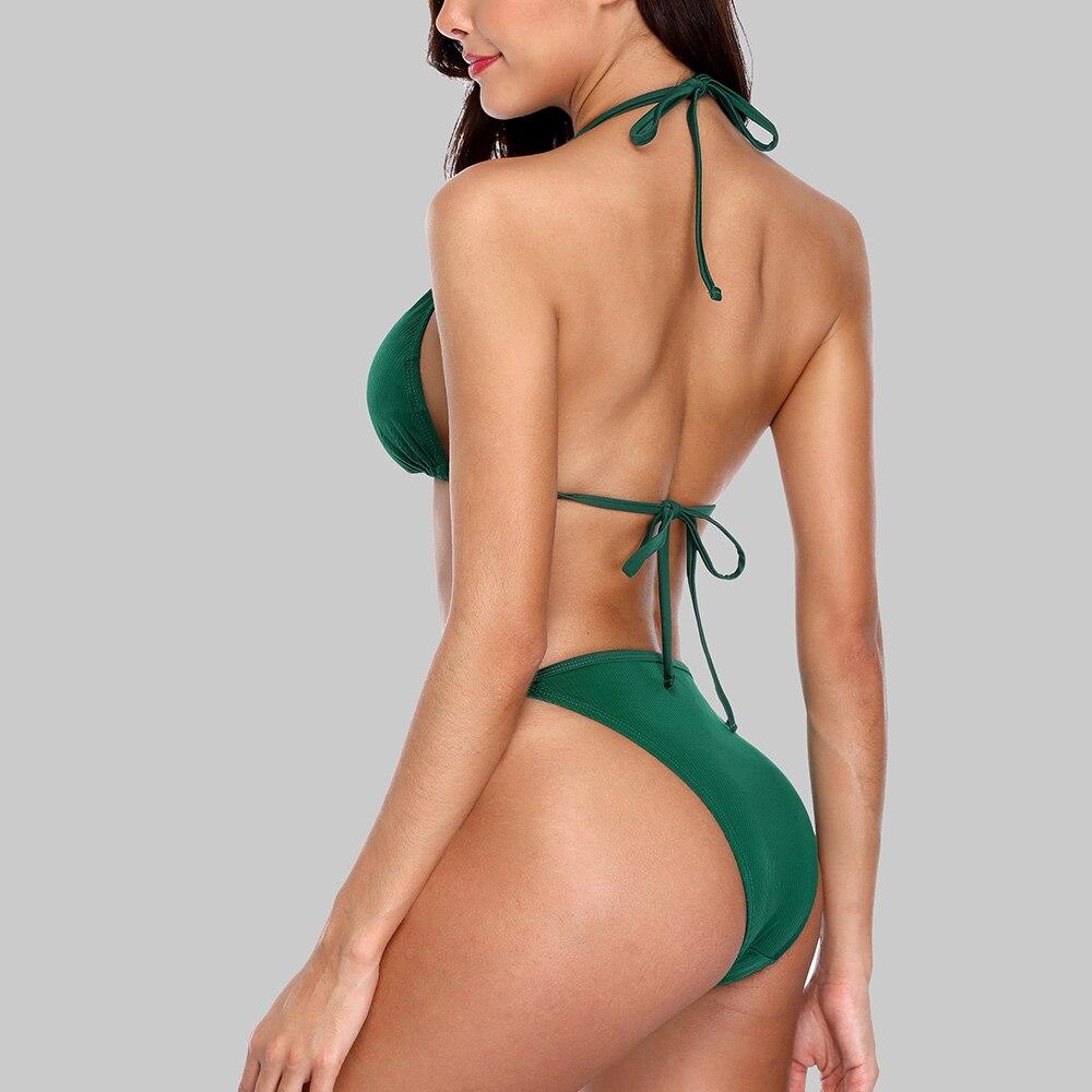 Charmleaks New Floral Print High Waist Swimwear Bikini Әйелдер - Спорттық киім мен керек-жарақтар - фото 4