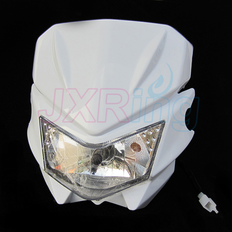Motorcycle Universal Vision Headlight fit kawasaki KLX110 For Off Road Dirt Pit Bike CRF KLX Motocross Free shipping mini dirt pit bike small apollo 47cc 49cc 50cc plastic cover kit racing motocross off road motorcycle