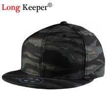 Long Keeper Unisex Cool Floral Hats Men Women Camouflage Snapback Hats Adjustable Camo Baseball Caps Hip Hop Hat