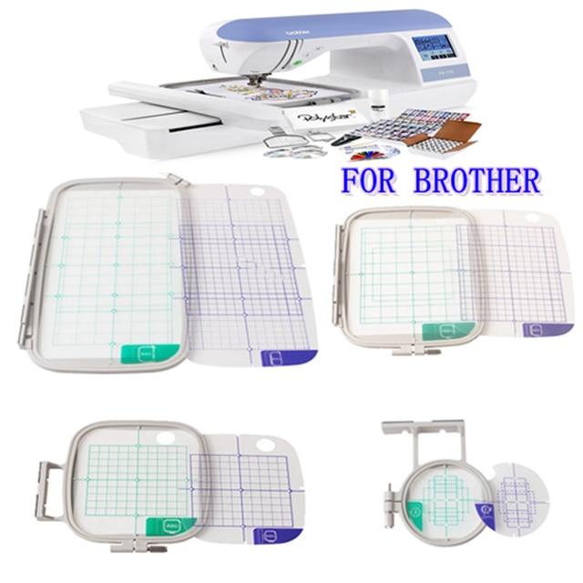 Embroidery machine hoop set sewing hoop  frame  brother  PE 700, PE 700II, PE 750D, PE 7701200 1250D, PC 6500, PC 8200, PC 8500