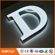 Передняя подсветка, акриловый светодиодный знак, буквы