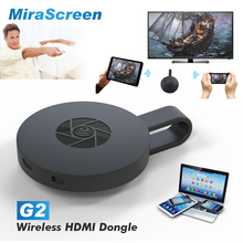 MiraScreen G2 Sans Fil HDMI Dongle TV Bâton 2.4G Wi-Fi 1080 P HD TV Dongle Plug And Play Chromecast Google Chromecast 2