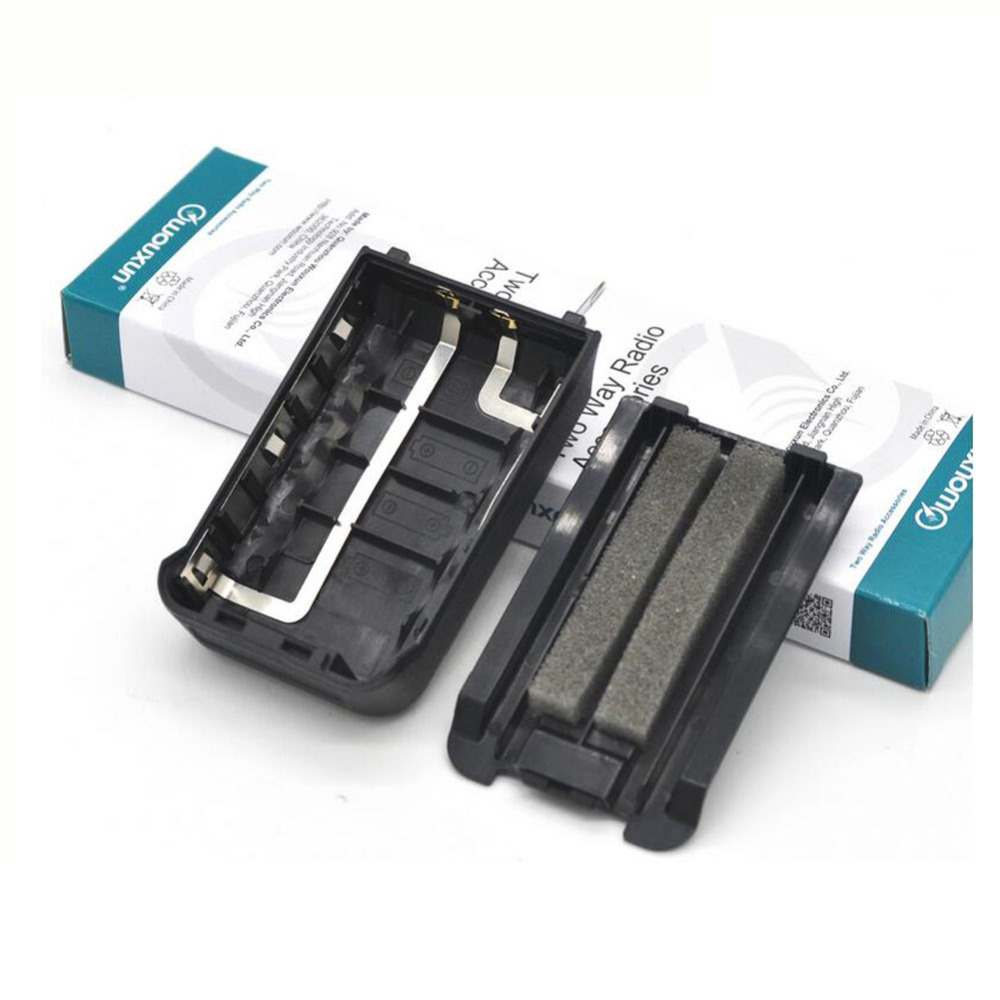 ANYSECU Hot Sell Battery  5x AA  Case  For  WOUXUN KG-UV8D Two Way Radio