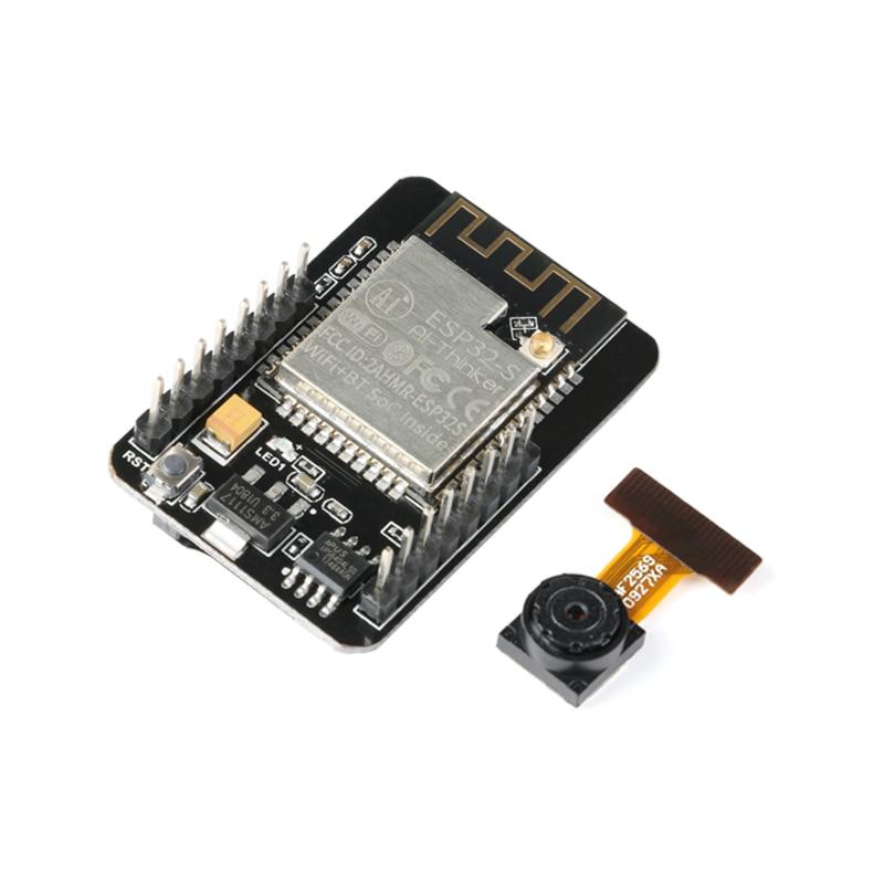 ESP32-CAM WiFi+ Bluetooth Module ESP32 Serial to WiFi ESP32 CAM Development Board 5V Bluetooth with OV2640 Camera Module
