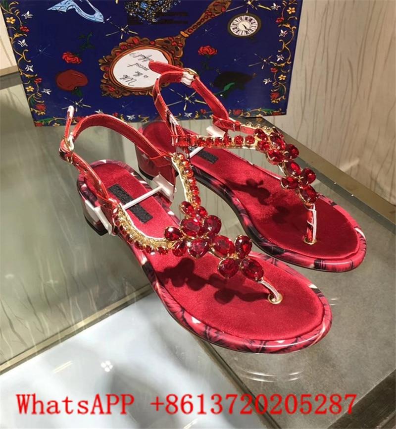 Plage Show Sandalias Sangle Chaussures Summer Mujer Strass Femme Boucle As Sandales Chaîne Clip Show Orteil Hot Flip as Flops Giltter Cristal Gladiateur A71w0nqE