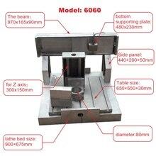 cnc aluminum frame 6060 DIY CNC Engraving milling drilling Machine work area 600X600X150mm