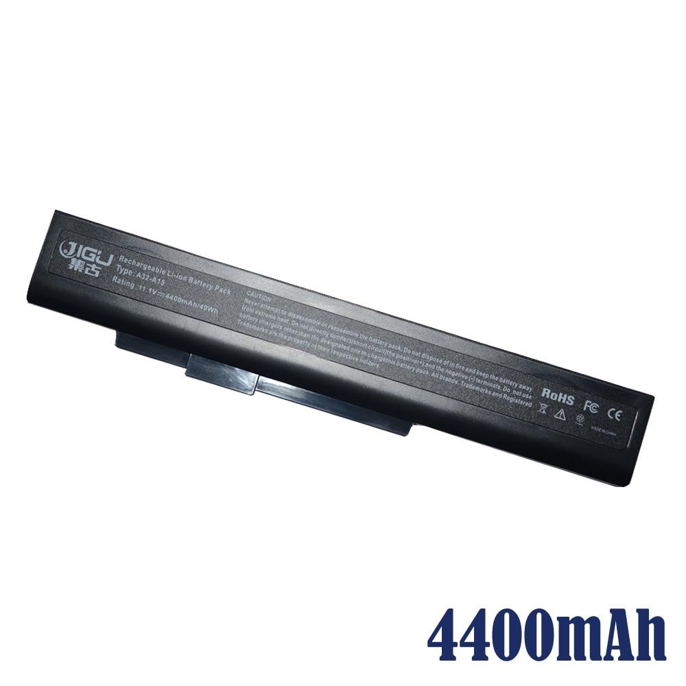 JIGU Laptop battery A32-A15 A41-A15 A42-A15 A42-H36 For Medion Akoya E6201 E6221 E7201 P6631 P6638 P7816 P7818 Erazer X6815 14 4v 3000mah us55 4s3000 s1l5 40046152 4icr19 66 original battery for medion akoya md98736 s6212t md99270 s6615t s621xt s6211t