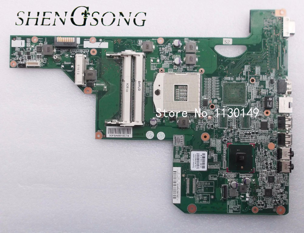 605903-001 board for HP G62 CQ62 laptop motherboard with hm55 chipset Free shipping for hp g62 g72 laptop motherboard with graphics 615848 001 01013y000 388 g