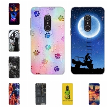 For Alcatel 1X Cover Soft TPU For Alcatel 1X 5059D 5059Y 5059X 5059T 5059J 5059I 5059A Case Girl Patterned For Alcatel 1X Shell