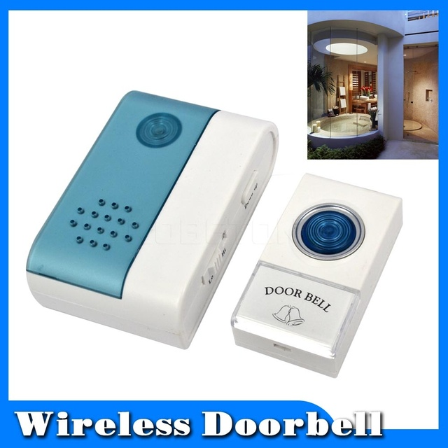 wireless doorbell home entry cordless door bell jingle bell with remote control 40 meters 38 ring
