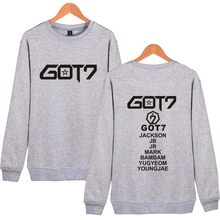 Got7 Harajuku Capless Women Hoodies Sweatshirts Set Tracksuit Couple Clothes Kpop Letters Print Hoodies Women Winter Clothes(China)