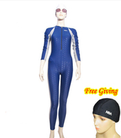 Plus Size Scuba Diving 0.5mm Fastskin Triathlon Suit Neoprene Wetsuit Mergulho buceo roupa Masculino Long Swimming Suit for Men