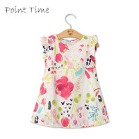 Baby Girl Dress Floral A Line Princess Dress For Lovely Baby Colorful Flower Dress New Brand