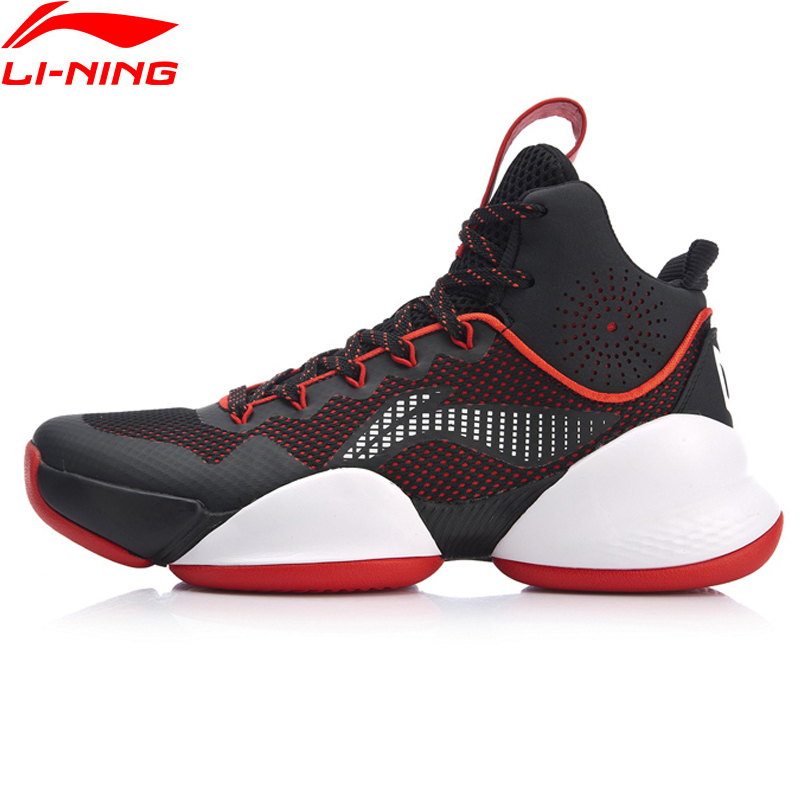 Li-Ning Men POWER V Professional Basketball Shoes Cushion Wearable LiNing CLOUD High-Cut Sport Shoes Sneakers ABAN045 XYL202