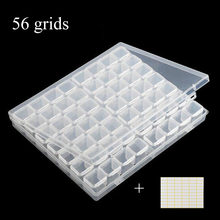 56/28 slots diamond painting accessories box,diamond painting 5d holder storage,broderie diamant,case cross stitch sewing Tools(China)