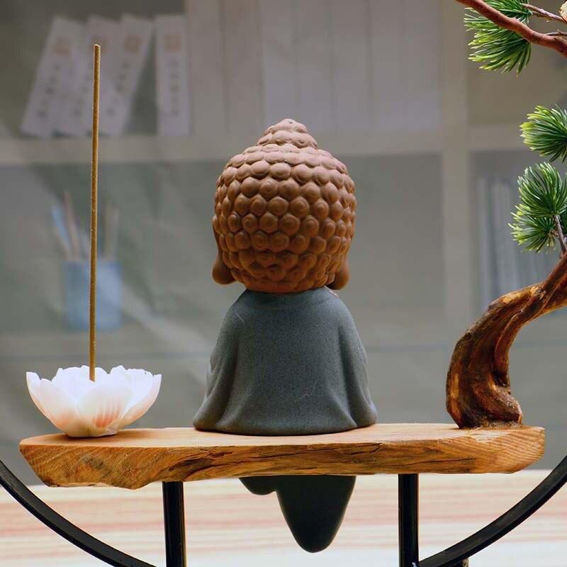 Zen Buddha Incense Burner 4