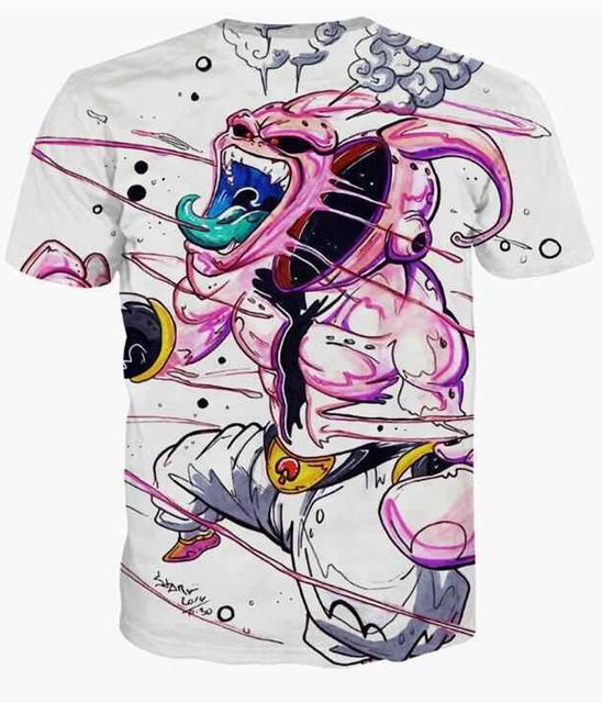 Dragon Ball Z Buu 3D T-Shirt