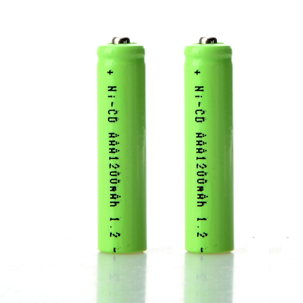2pcs AAA 1200mAh <font><b>1.2</b></font> <font><b>V</b></font> Rechargeable Battery AAA <font><b>NI</b></font>-<font><b>CD</b></font> 1.2V Rechargeable 3A Battery Baterias for Controller Toys Electronic image