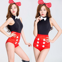 Bar Show Halloween Mouse Dress Bar COSPLAY Party Cat and Female Night Club DS Stage Dress cosplay sexy girl
